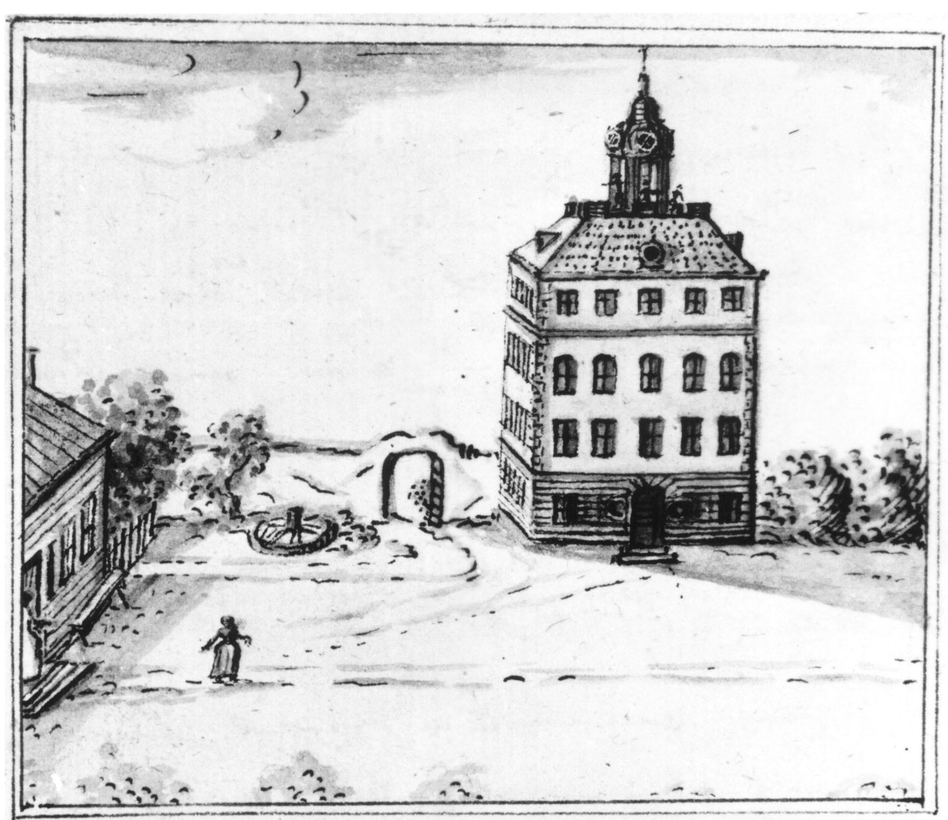 Engsö slott, där Dalin oftade gästade familjen Piper