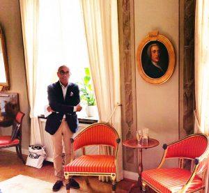 Hans Bergfast berättar om porträttet
